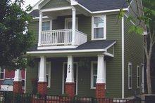 Dream House Plan - Craftsman Exterior - Front Elevation Plan #936-21