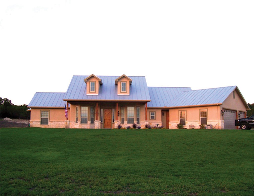 Country Exterior - Front Elevation Plan #472-257