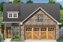 Ranch Exterior - Front Elevation Plan #84-668