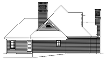 Ranch Exterior - Other Elevation Plan #57-627