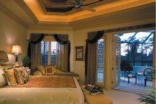 Mediterranean Interior - Master Bedroom Plan #930-491