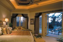 Home Plan - Mediterranean Interior - Master Bedroom Plan #930-491