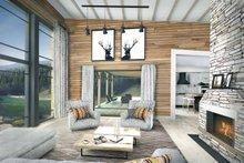 Contemporary Interior - Family Room Plan #924-1