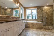 Southern Style House Plan - 3 Beds 2.5 Baths 3079 Sq/Ft Plan #1070-12 Interior - Master Bathroom