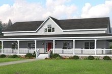 Dream House Plan - Traditional Exterior - Front Elevation Plan #932-336