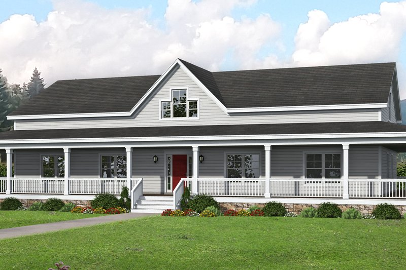 House Plan Design - Traditional Exterior - Front Elevation Plan #932-336