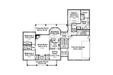 Country Floor Plan - Main Floor Plan Plan #21-374