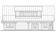 Home Plan - Craftsman Exterior - Other Elevation Plan #124-1038
