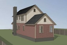 Home Plan Design - Country Exterior - Rear Elevation Plan #79-203
