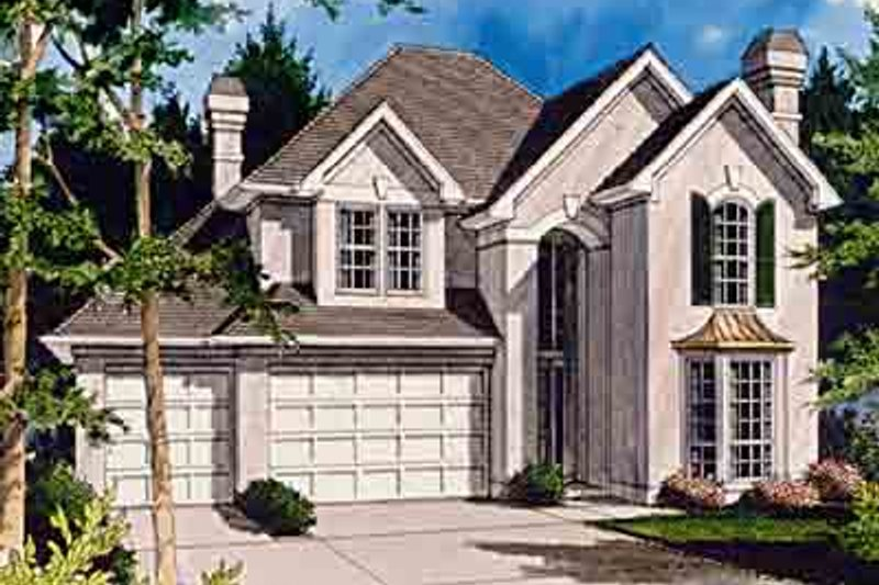Traditional Exterior - Front Elevation Plan #48-226