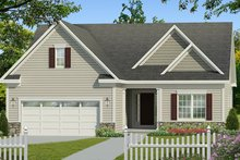 House Plan Design - Ranch Exterior - Front Elevation Plan #1010-181