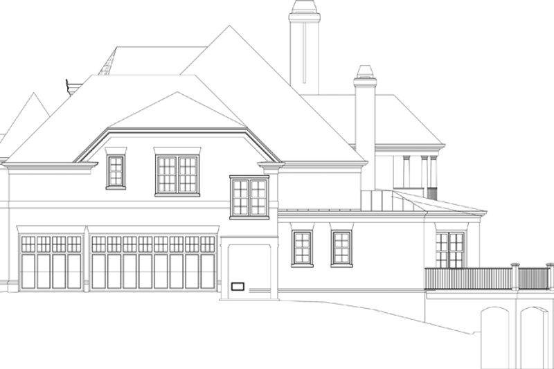 European Exterior - Other Elevation Plan #119-421 - Houseplans.com
