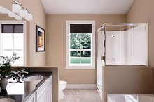 Ranch Interior - Master Bathroom Plan #18-9545