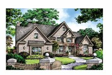 Home Plan - European Exterior - Front Elevation Plan #929-870