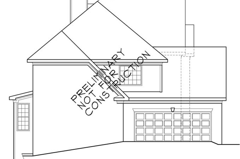 Traditional Exterior - Other Elevation Plan #927-756 - Houseplans.com