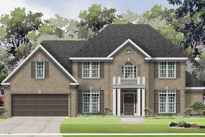 Traditional Exterior - Front Elevation Plan #424-389