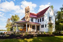 Home Plan - Country Exterior - Other Elevation Plan #928-290