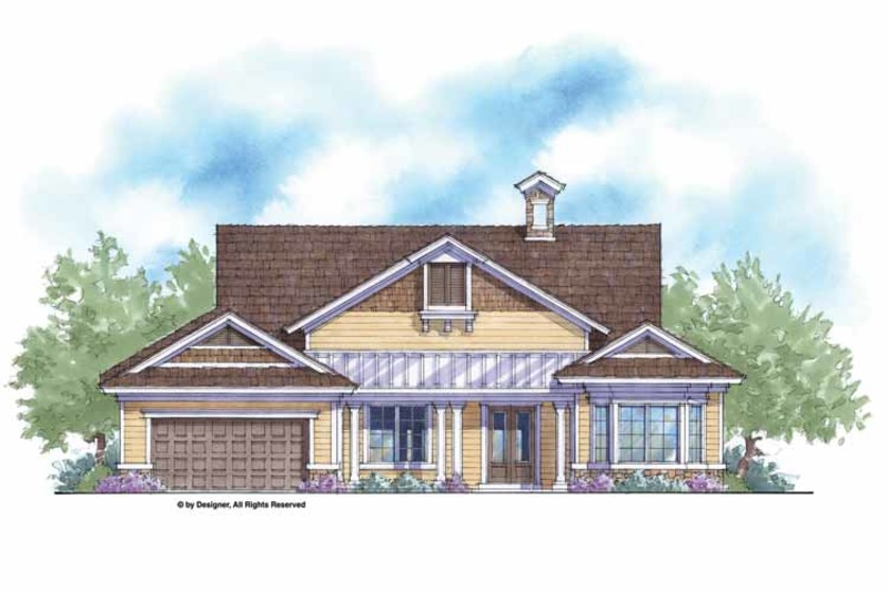 Country Exterior - Front Elevation Plan #938-49 - Houseplans.com