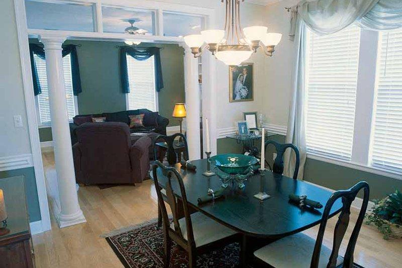 Classical Interior - Dining Room Plan #17-2665 - Houseplans.com