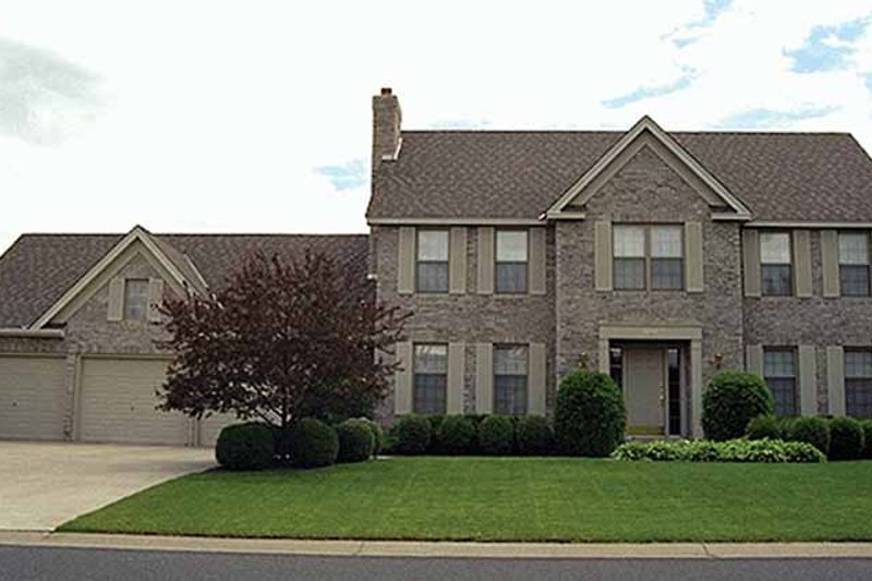 House Plan Design - Colonial Exterior - Front Elevation Plan #51-734