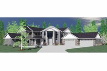 Traditional Exterior - Front Elevation Plan #509-391