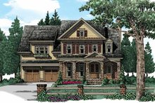 Traditional Exterior - Front Elevation Plan #927-940