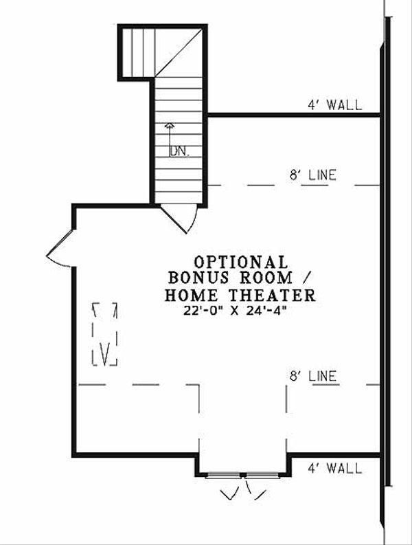Country Floor Plan - Other Floor Plan Plan #17-2651