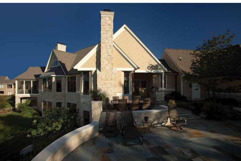 Country Exterior - Other Elevation Plan #928-99 - Houseplans.com