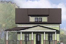 Craftsman Exterior - Front Elevation Plan #936-13