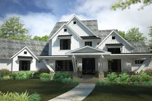 Country Exterior - Front Elevation Plan #120-250