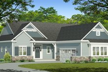Architectural House Design - Ranch Exterior - Front Elevation Plan #1010-200