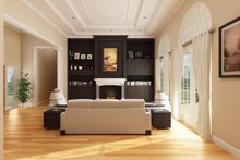 Craftsman Interior - Family Room Plan #314-289