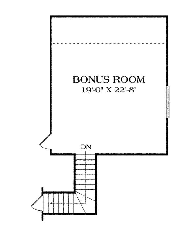 House Plan Design - Craftsman Floor Plan - Other Floor Plan #453-612