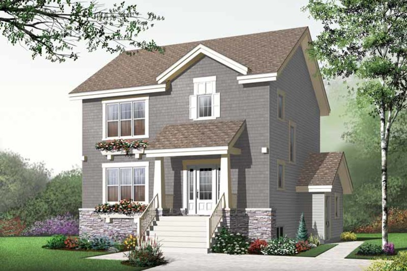 Traditional Exterior - Front Elevation Plan #23-2507