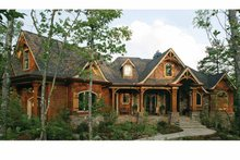 Home Plan - Craftsman Exterior - Front Elevation Plan #54-363