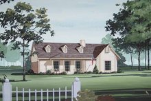 Dream House Plan - Traditional Exterior - Front Elevation Plan #45-404