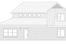 House Plan Design - Contemporary Exterior - Rear Elevation Plan #932-172