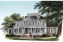 Architectural House Design - Classical Exterior - Front Elevation Plan #137-328