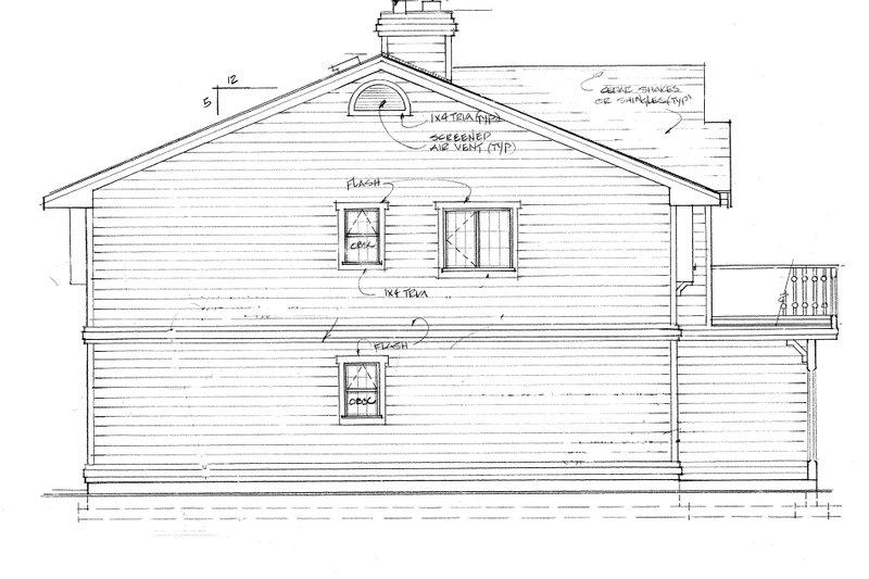 Craftsman Exterior - Other Elevation Plan #47-694 - Houseplans.com