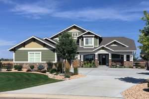 Craftsman Exterior - Front Elevation Plan #1069-11