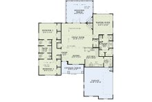Craftsman Floor Plan - Main Floor Plan Plan #17-2586