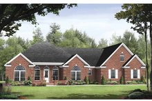 House Plan Design - Traditional Exterior - Front Elevation Plan #21-422