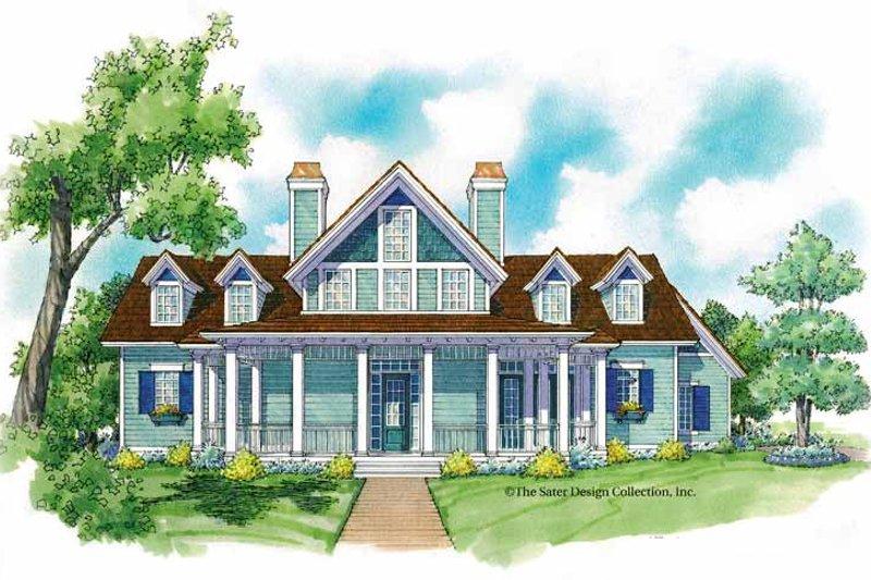 Architectural House Design - Victorian Exterior - Front Elevation Plan #930-213
