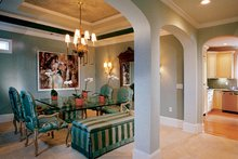 House Plan Design - Country Interior - Dining Room Plan #927-116