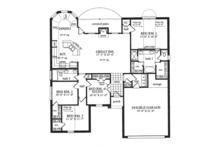 Country Floor Plan - Main Floor Plan Plan #42-719