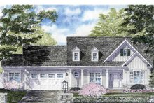 House Plan Design - Colonial Exterior - Front Elevation Plan #316-264