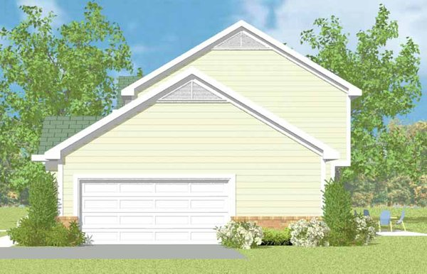 Country Floor Plan - Other Floor Plan Plan #72-1103