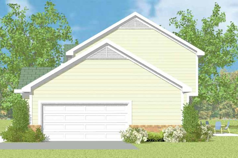 Home Plan - Country Exterior - Other Elevation Plan #72-1103