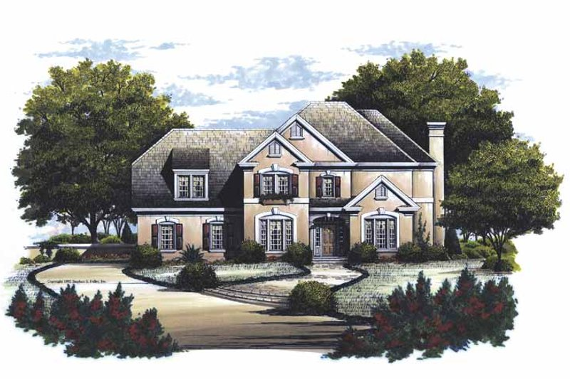 Traditional Exterior - Front Elevation Plan #429-131