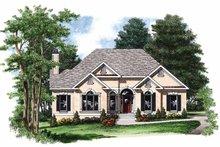 House Plan Design - Mediterranean Exterior - Front Elevation Plan #927-680